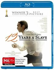 12 Years A Slave : NEW Blu-Ray