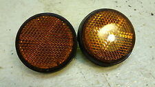 1980 Kawasaki KZ250 KZ 250 LTD K262-2' front reflector set