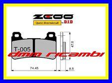 Pastiglie freno anteriori Racing ZCOO EX HONDA CBR 600 RR 05>06 2005 2006 DID