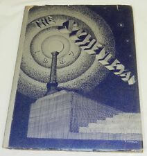 1937 Annual School YEARBOOK for SCHENLEY EVENING HIGH SCHOOL, Pittsburgh, PA