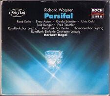 WAGNER PARSIFAL Rene Kollo Giela Schröter Theo Adam Bunger HERBERT KEGEL 4CD 93