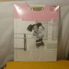 FS 1825X Nud XS/ Girls Full Footed Studio Basics Dance Tights by Capezio SZ x2-6