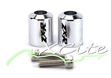 Chrome barends bar ends Kawasaki Ninja250 ZX636 ZX6 ZX6RR ZX7 ZZR600 #BE067#