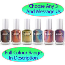 COLOR CLUB Nail Polish Halo Hues & Oil Slicks Choose Any 3 | $14.2/Bottle 15mL