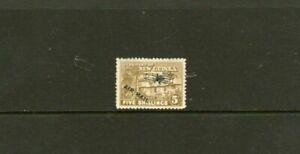 New Guinea Village Hut 5/- Stamp