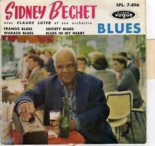 SIDNEY BECHET & CLAUDE LUTER BLUES FRENCH ORIG EP