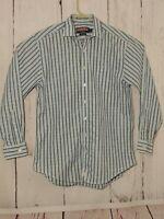 VINEYARD VINES Men's Long Sleeve Button Front Taylor Shirt check Size M  Blue