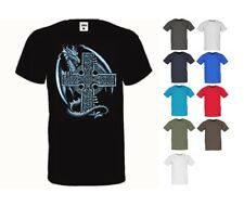 Camiseta Tatuaje Dragón & Celta Kreuzmotiv En 10 Tonos Modelo Dragón