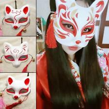 Hand- painted Fox Mask Endulge Full Face PVC Halloween Animal Mask Cosplay Masks
