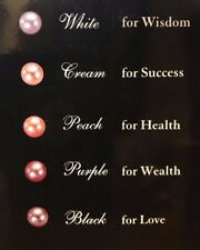 """NEW Pearl Necklace, Dong Hui 16"""" Chain with Interchangeable Pearls"""