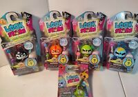 Hasbro Lock Stars Collectibles Lot Of 4 Series 1&2 & 1 Blind Bag Series 3