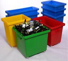 More details for bar bottle skip bin portable waste storage truck 135ltr 150ltr 185ltr 200ltr