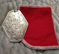 1979 Towle 12 Days of Christmas 9 Ladies Dancing Sterling Silver Ornament 2 1/2""