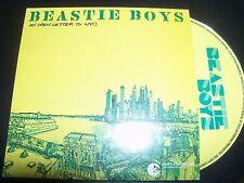 Beastie Boys Open Letter To NYC Australian Card Sleeve CD EP