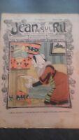 Revista Jean Que Rit N º 424 1909 Journal Demuestra que Aparecen El Viernes ABE