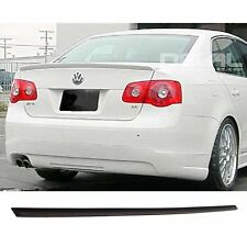VW JETTA Spoiler Aileron Becquet Alettone Aero Trunklid PAINTED Brilliant Black