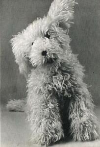 shaggy dog toy knitting pattern 218