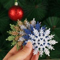12Pcs  Xmas Snowflake Xmas Tree Decor Festival Decor Party Decor Supplies DIY