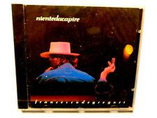 FRANCESCO DE GREGORI -  NIENTE DA CAPIRE  -  CD 1990  NUOVO E SIGILLATO