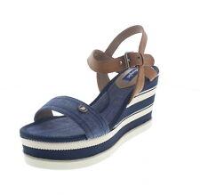 Sandali e scarpe blu zeppa Wrangler per il mare da donna