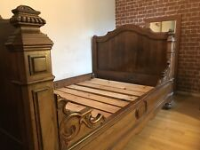Antique sleigh bed