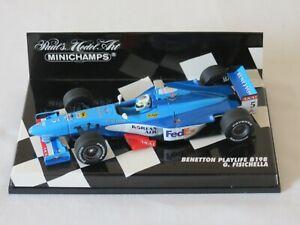 Giancarlo Fisichella 1998 Benetton Playlife B198 Minichamps Formula One F1 1:43