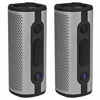 (2) Rockville ROCK LAUNCHER SL Portable Waterproof Bluetooth Speakers w/ TWS