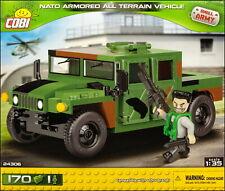 COBI NATO AAT Vehicle / Green Camo 1:35 (24306) - 170 elem. - HMMWV