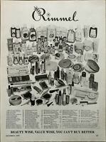 Rimmel Cosmetic Range You Can't Buy Better Vintage Advertisement 1970