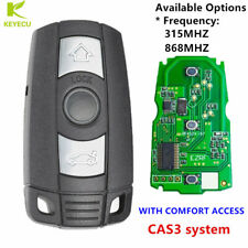 REPLACEMENT WITH COMFORT ACCESS SMART KEY KEYLESS GO 315/868MHZ FOR BMW CAS3+