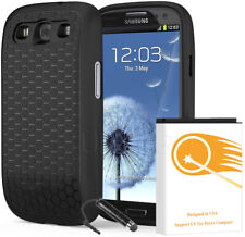 Upgraded Super Extended Battery+Back Cover+Case for Samsung Galaxy S3 SCH-R530M
