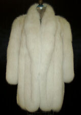 BLUSH FOX FUR STROLLER FULL SKINS SIZE 6-8 PETITE EXCELLENT CONDITION FURS COATS