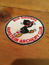 VTG BUM SHOOTERS RAMSTEIN ARCHERY CLUB HUNTING TARGET SHOOT PATCH