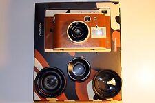 Lomo'Instant Camera Sanremo Edition - CIB with 3 different lenses plus strap