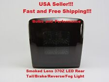 2009 2010 2011 2012 Nissan 370Z Smoked LED 4th Tail Brake Reverse Fog Light Lamp