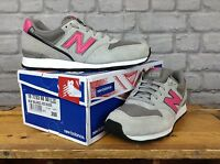 NEW BALANCE LADIES 996 UK 6 EU 39 GREY PINK SUEDE TRAINERS RRP £70