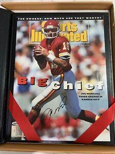 Joe Montana Signed Sports Illustrated 9/13/93 Chiefs Autograph Upper Deck COA