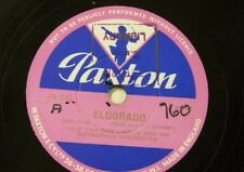 78rpm library music DOLF VAN DER LINDEN eldorado / holiday in hollywood PR 542