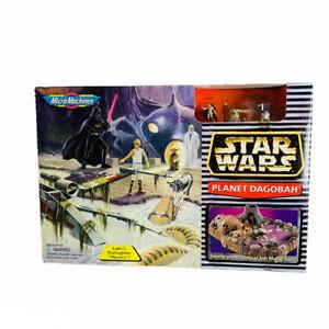 Star Wars Micro Machines Planet Dagobah Home of Jedi Master Yoda Galoob 1996