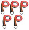 Rainbow Slip Style Dog Leash 6 ft Vet Rescue Shelter Training 5 or 10 Lead Packs