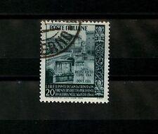 REPUBBLICA - U -  20 L. RICOSTRUZIONE PONTE S.TRINITA (613) - 1949