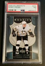 Sidney Crosby 2005  UD Artifacts  #224  PSA7  NM  RC