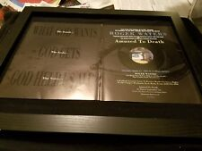 Roger Waters What God Wants Rare Original Radio Promo Poster Ad Framed!