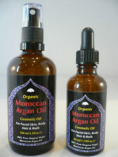 100% Pure Moroccan ARGAN OIL For Anti ageing Face Skin & Body + Hair Conditioner
