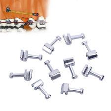 10pcs/kit Dental Orthodontic Crimpable Hooks f Long Type Stainless Steel AZDENT