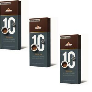3 Packs Elite Coffee 10 Pods Strong Powerful Suitable for Nespresso Machine 50g