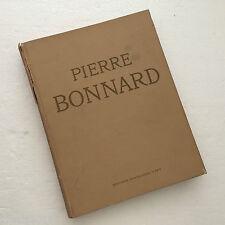 1947 Pierre Bonnard Par François-Joachim Beer 1st Ed. Francaises D'Art Marseille
