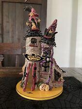 Blue Sky Clayworks Halloween Count Batula Castle Goldminc Excellent Condition!