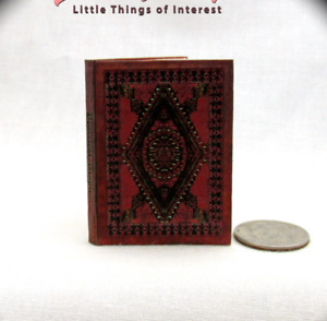 1:6 Scale PRACTICAL MAGIC SPELL BOOK Illustrated Readable Book Potter Witch