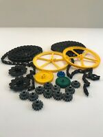 K'nex Mini Roller Coaster Chain Large Medium and Small Gears Lot of 20